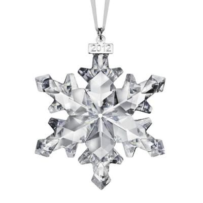 SWAROVSKI 2012 CHRISTMAS ORNAMENT
