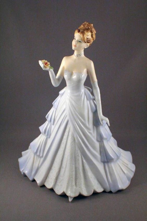 Coalport Happiness Figurine