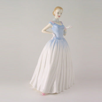 ROYAL DOULTON PRETTY LADIES HAPPY BIRTHDAY Figurine