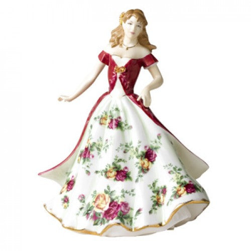 ROYAL DOULTON ROYAL ALBERT OLD COUNTRY Roses Figurine