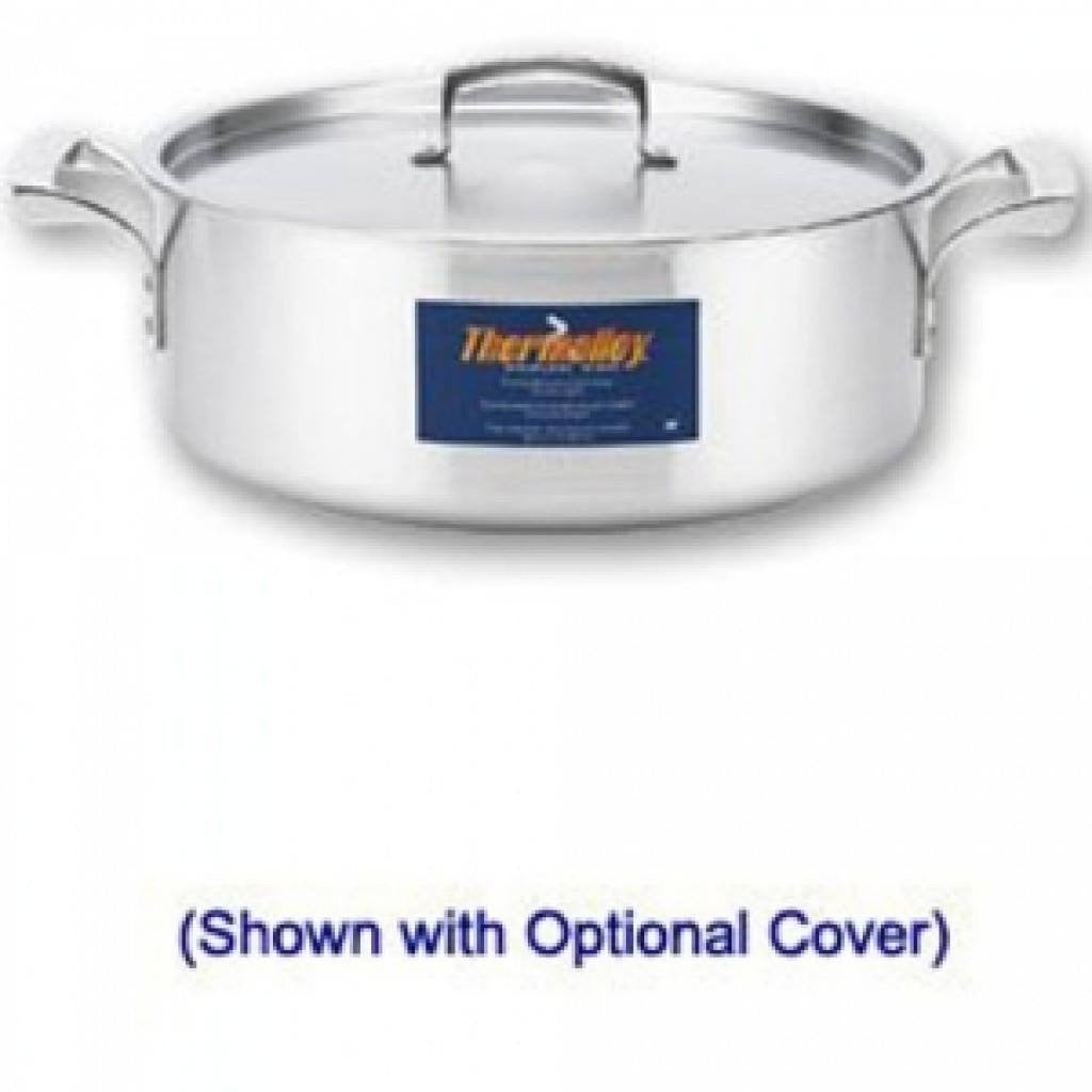 Thermalloy - 8QT Commercial Grade Stainless Braiser - Kitchen Smart