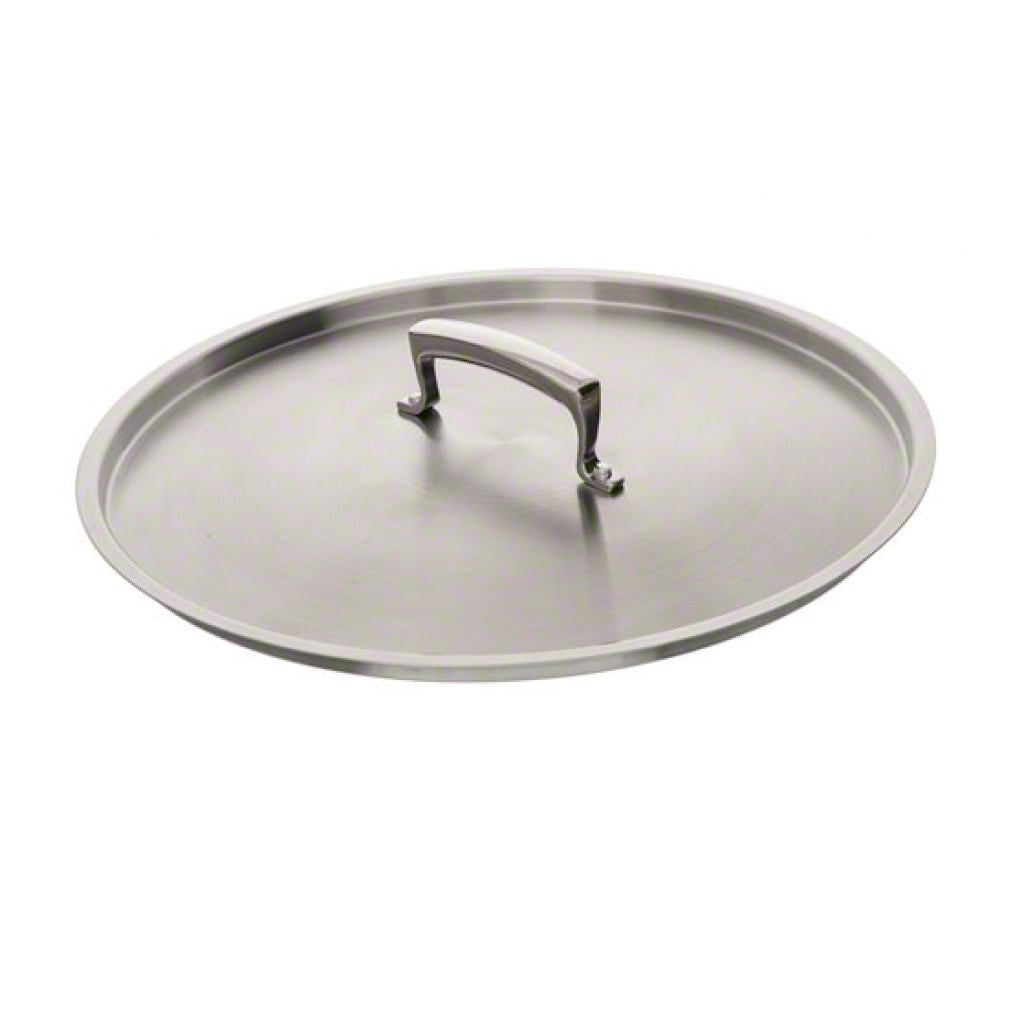 "Thermalloy - 8"" Commercial Grade Stainless Lid - Kitchen Smart"