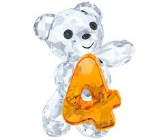 SWAROVSKI KRIS BEAR - NUMBER FOUR