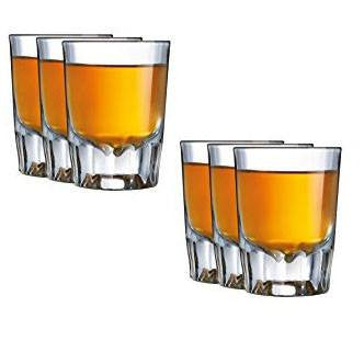 Luminarc Barcraft Shot Glass Set of 6 - Kitchen Smart