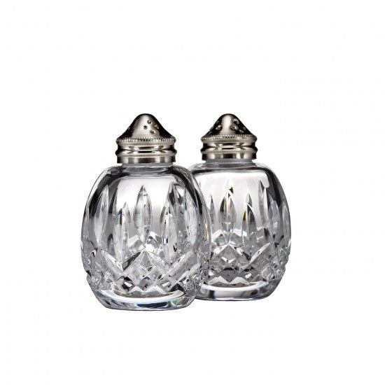 Waterford Classic Lismore Round Salt & Pepper
