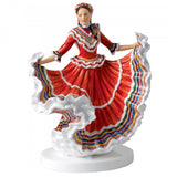 Royal Doulton Dances of the World, Mexican Hat Dance Figurine