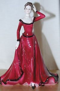 Coalport Season Greeting's Figurine