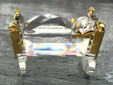 SWAROVSKI CRYSTAL MEMORIES - CRADLE GOLD