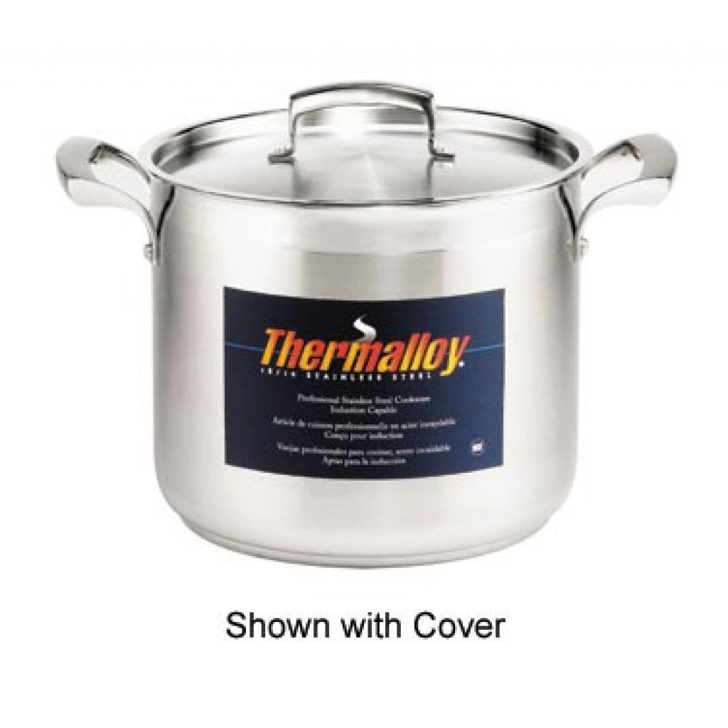 Thermalloy - 10QT Commercial Grade Stainless Stock Pot - Kitchen Smart