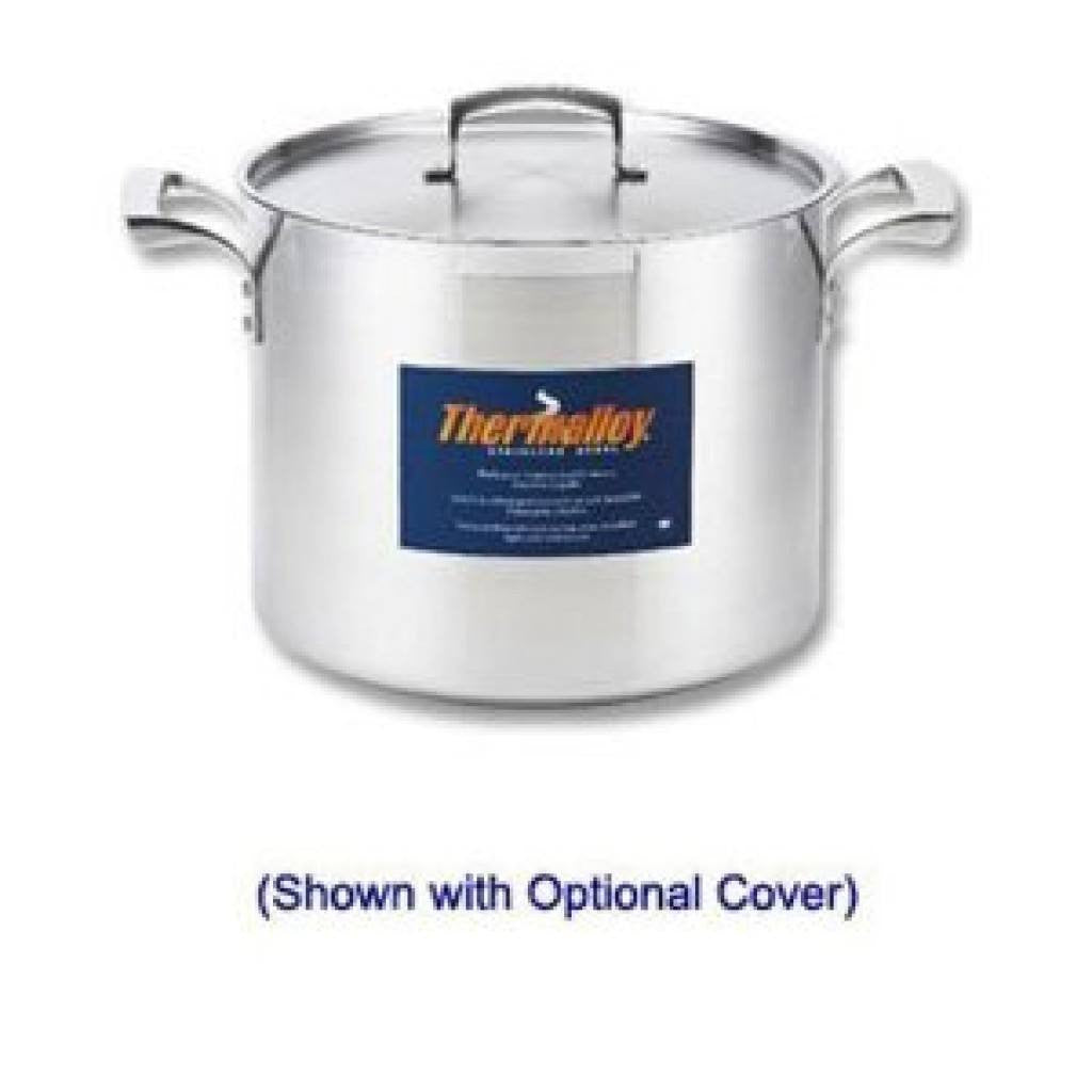 Thermalloy - 20QT Commercial Grade Stainless Stock Pot - Kitchen Smart