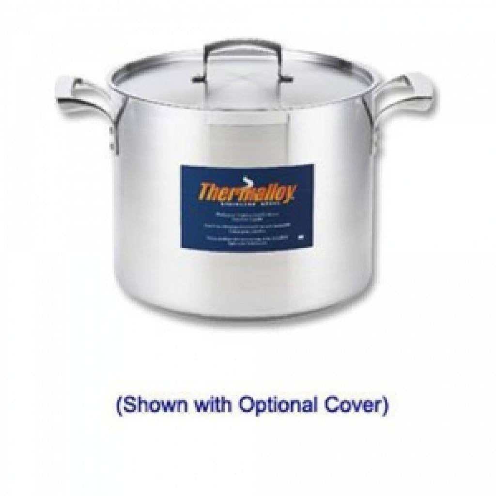 Thermalloy - 24QT Commercial Grade Stainless Stock Pot - Kitchen Smart