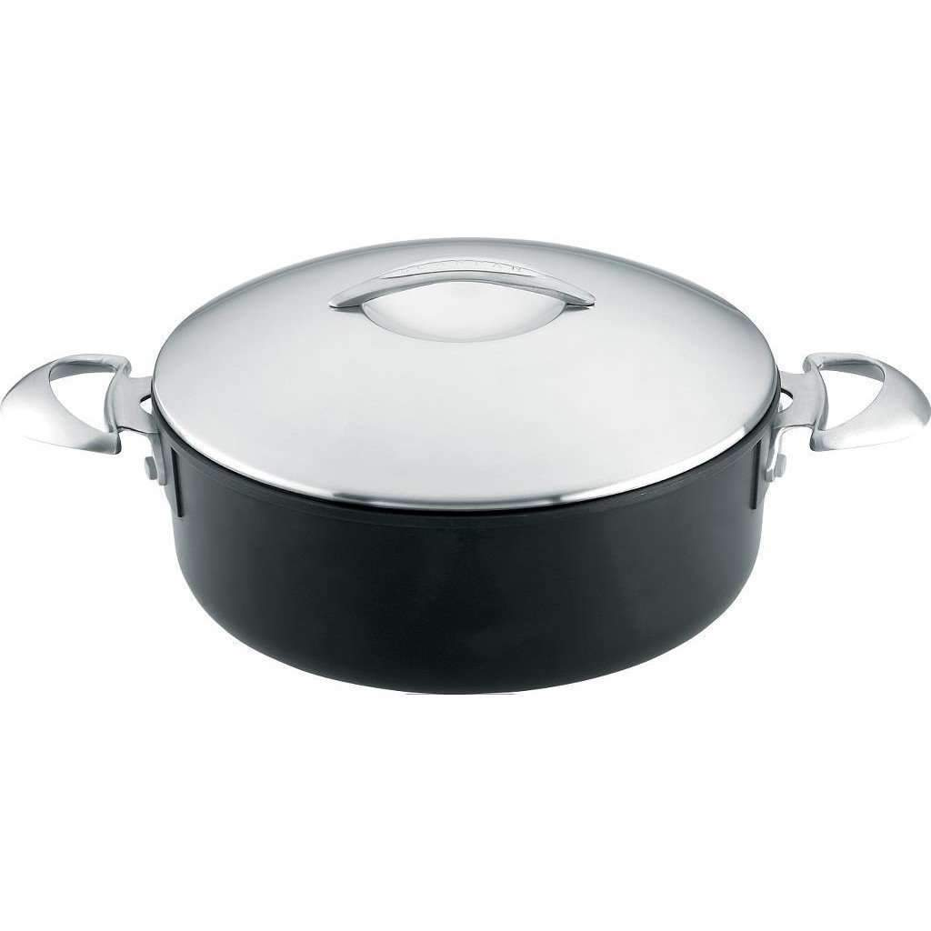 Stockpot - Scanpan - 5.5 Qt (5.2L)  Professional Low Sauce Pot