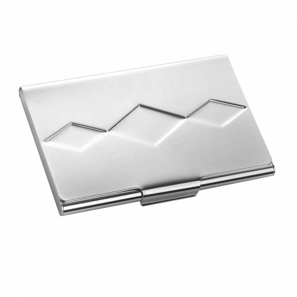 VERA PEPLUM BUSINESS CARD HOLDER