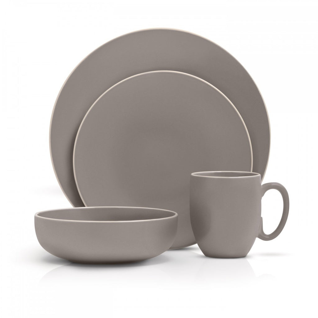 Wedgwood VERA COLOR 16-PIECE SET GRAY