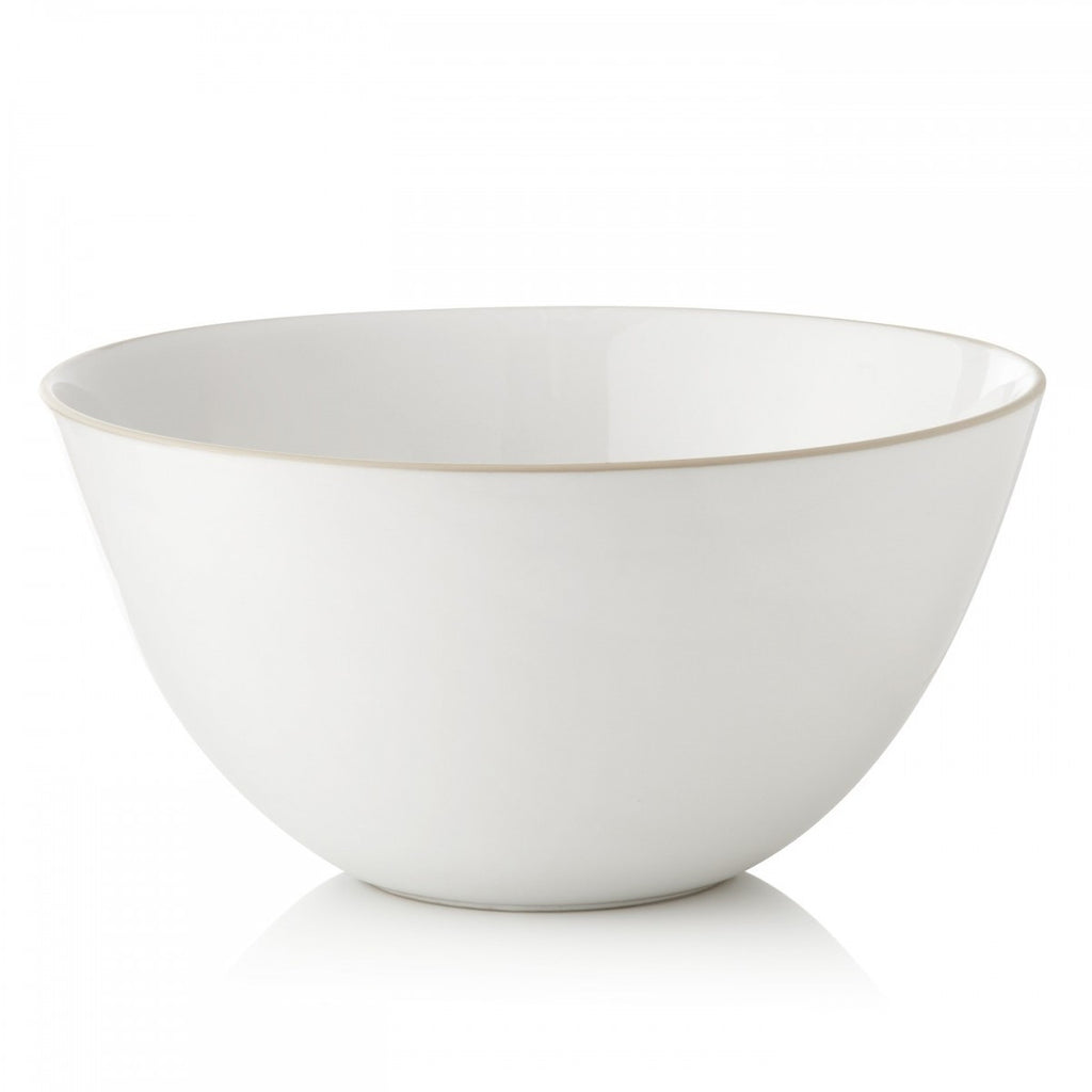 "VERA COLOR SERVING BOWL 10"" WHITE"