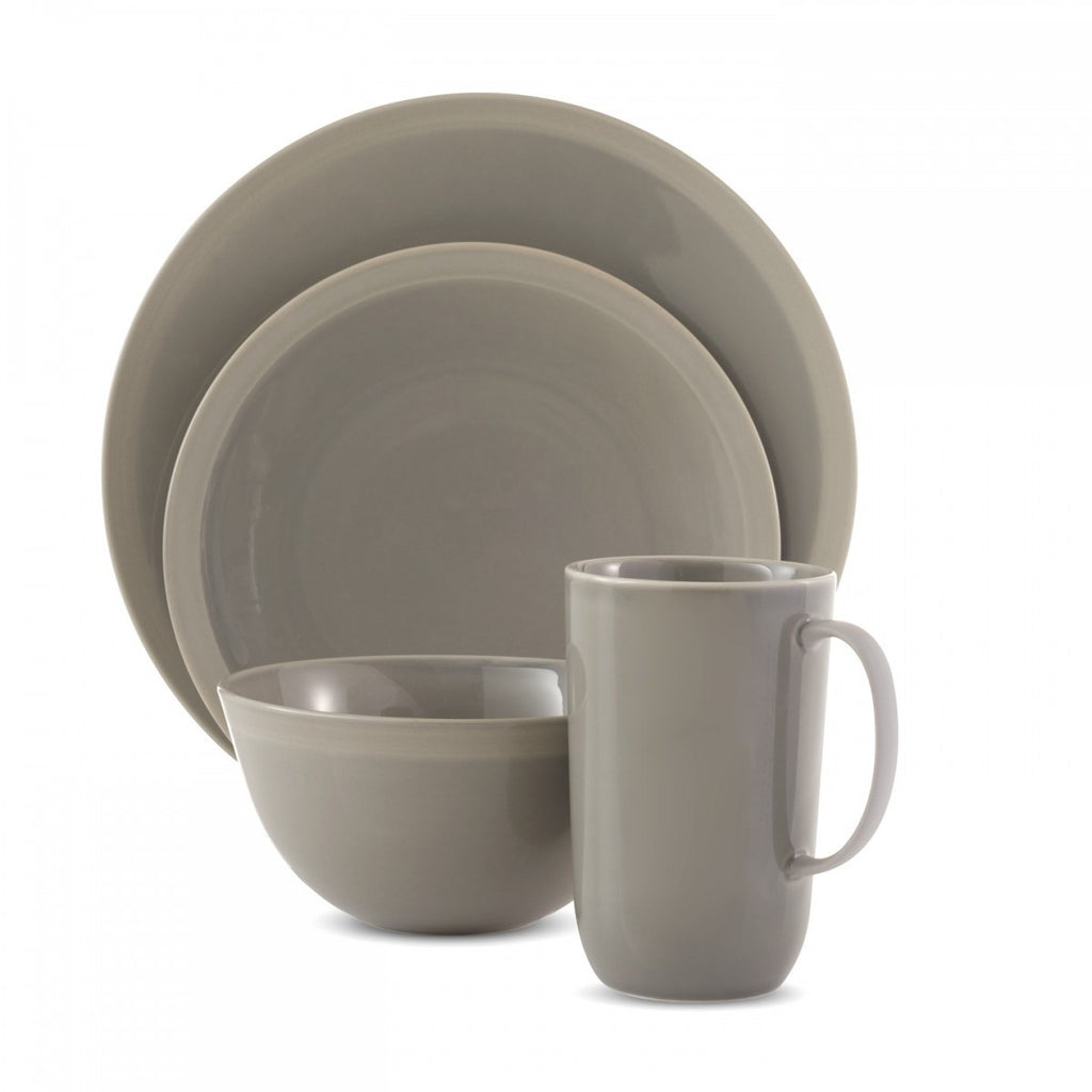 VERA GRADIENTS CLAY 4-PIECE PLACE SETTING