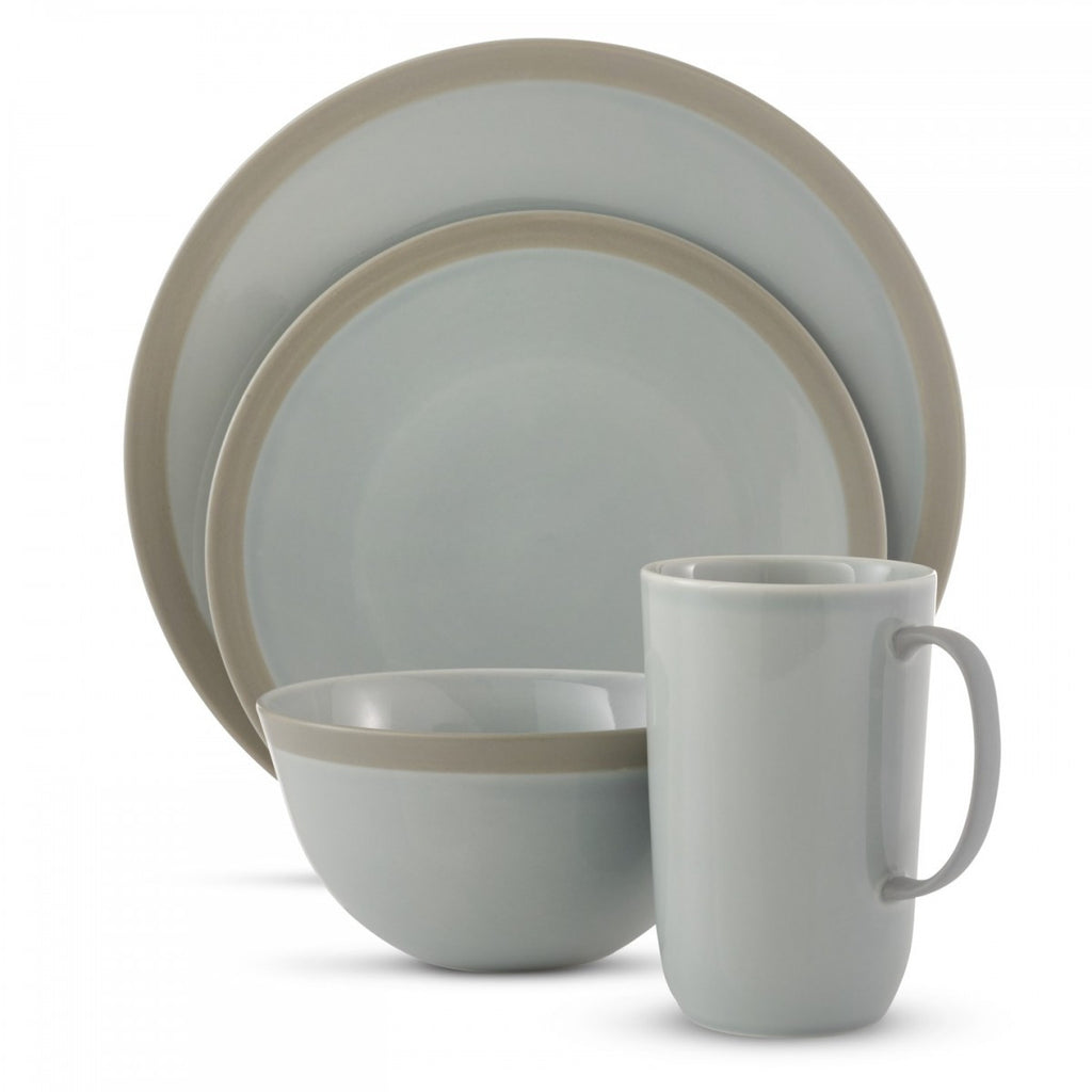 VERA GRADIENTS MIST 4-PIECE PLACE SETTING