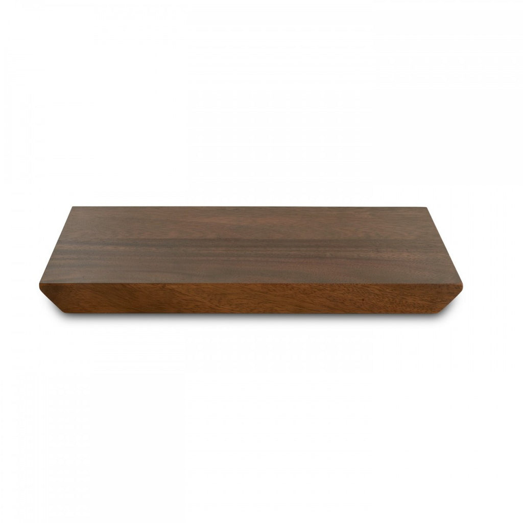 VERA GRADIENTS WOOD PLANK TRAY 12""