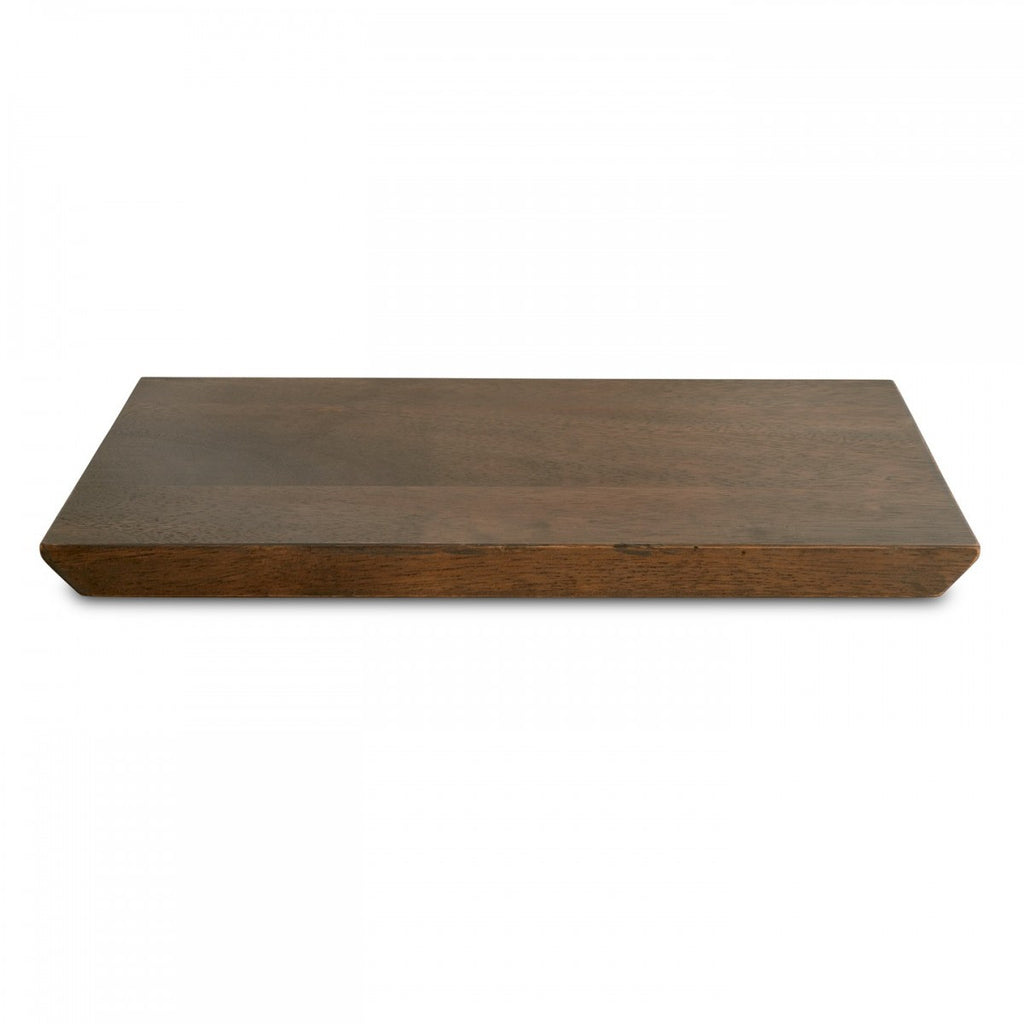 VERA GRADIENTS WOOD PLANK TRAY 15""