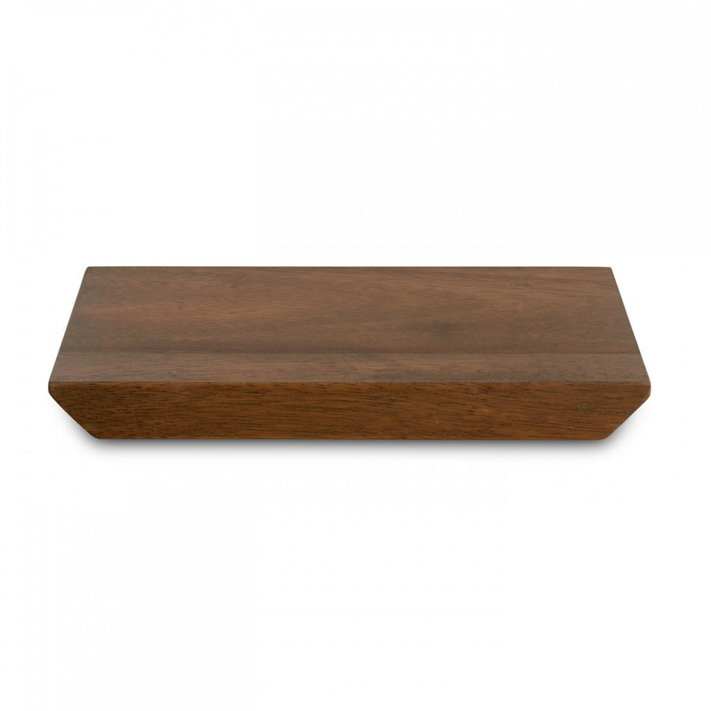 VERA GRADIENTS WOOD PLANK TRAY 9""