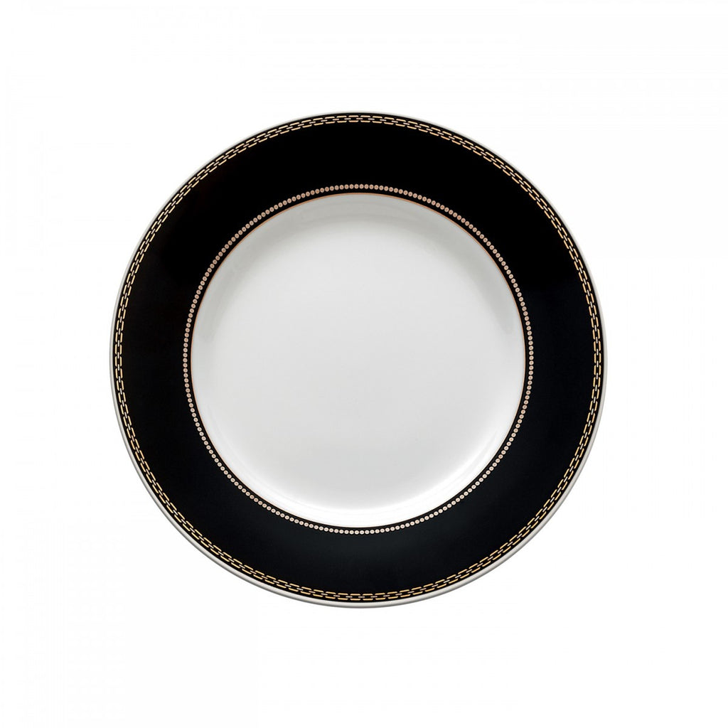WITH LOVE NOIR BREAD & BUTTER PLATE 6""