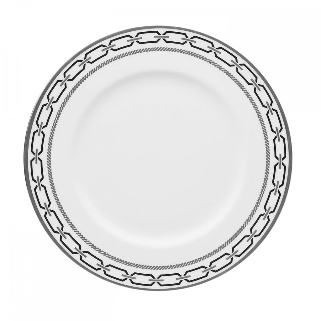 WITH LOVE NOUVEAU INDIGO DINNER PLATE 10.75""