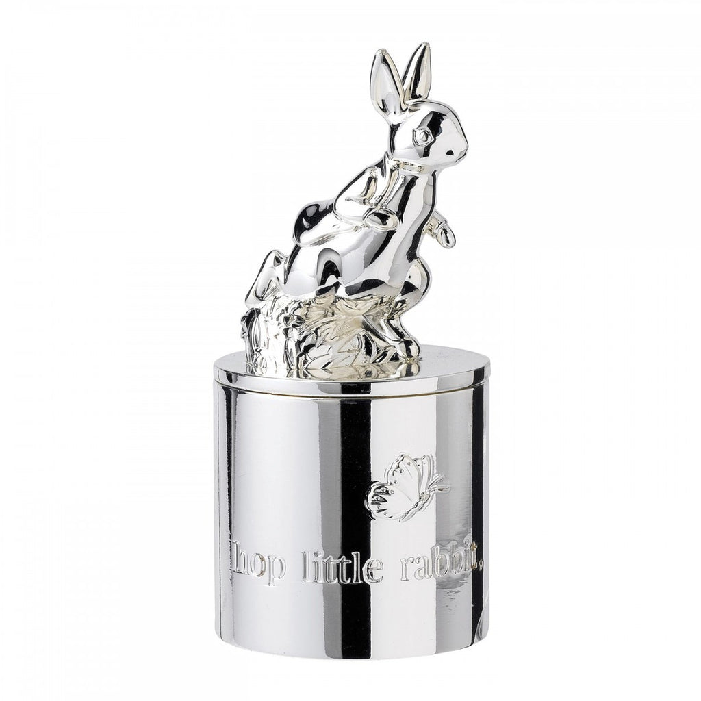 PETER RABBIT SILVER 1ST TOOTH/CURL BOX