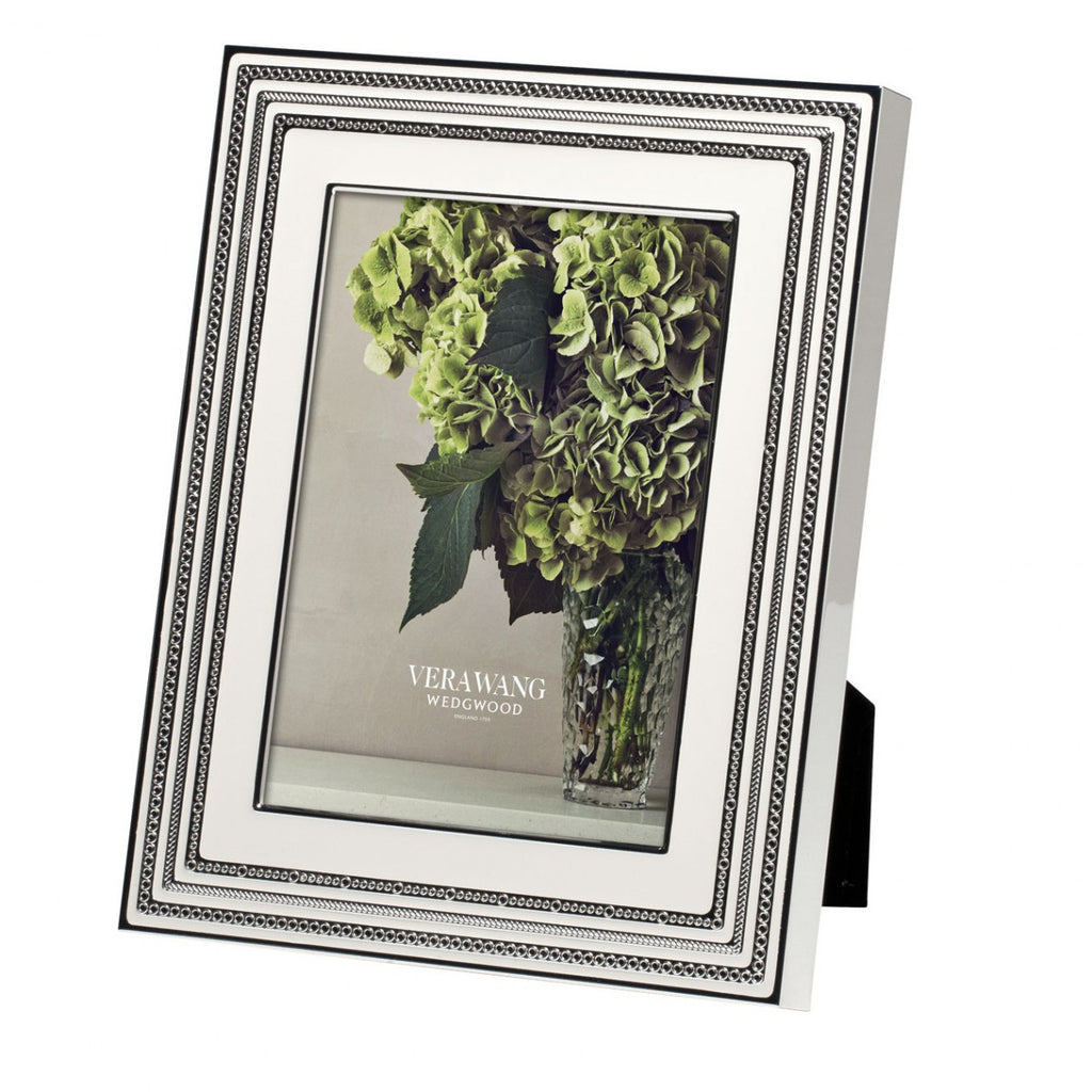 WITH LOVE BLANC FRAME 5X7""