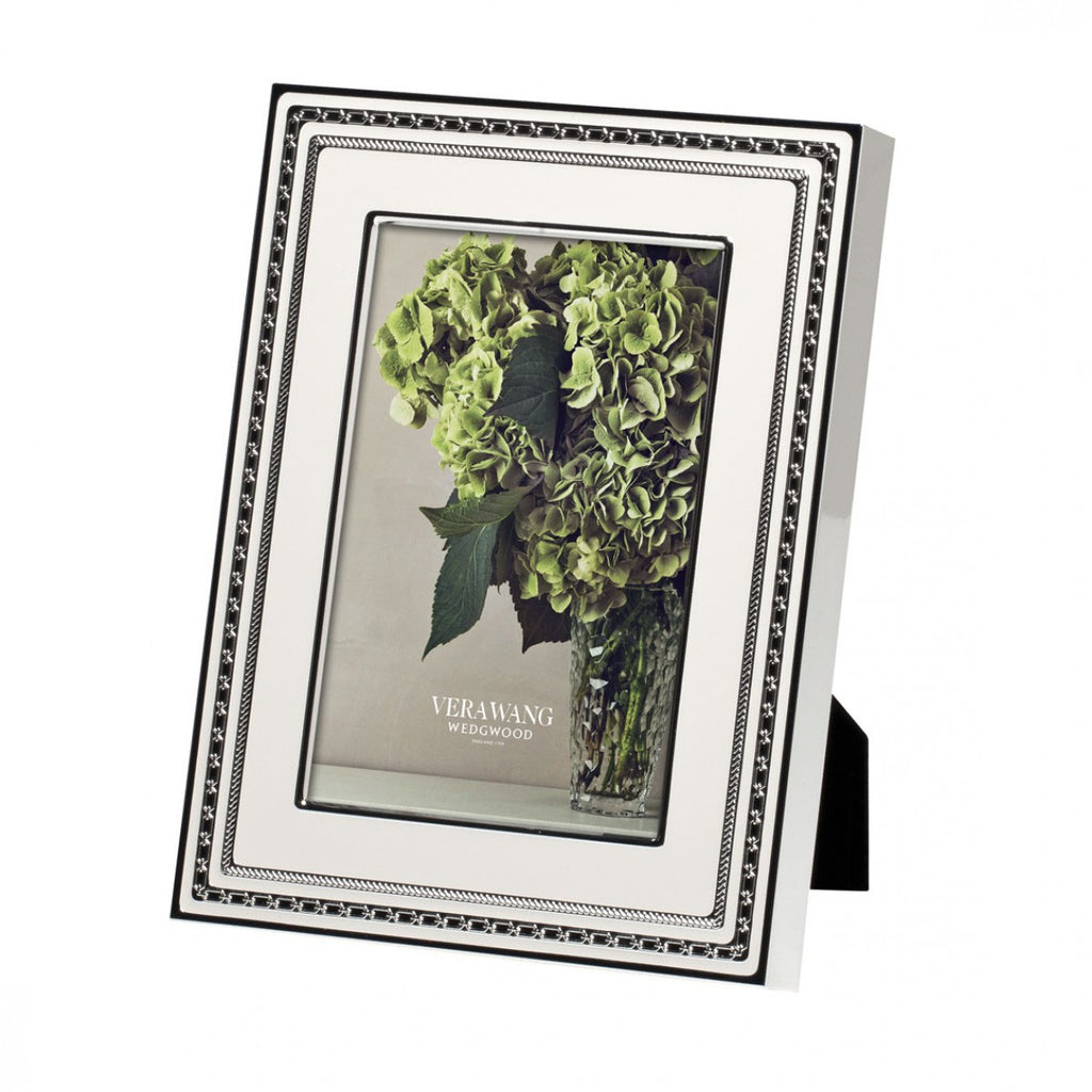 WITH LOVE BLANC FRAME 4X6""