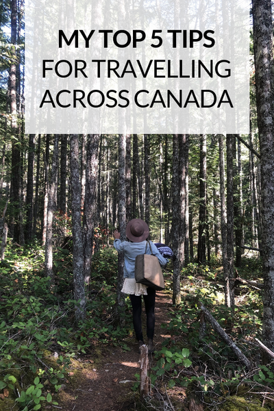 CMC on the Road: My Top 5 Tips for Travelling Across Canada