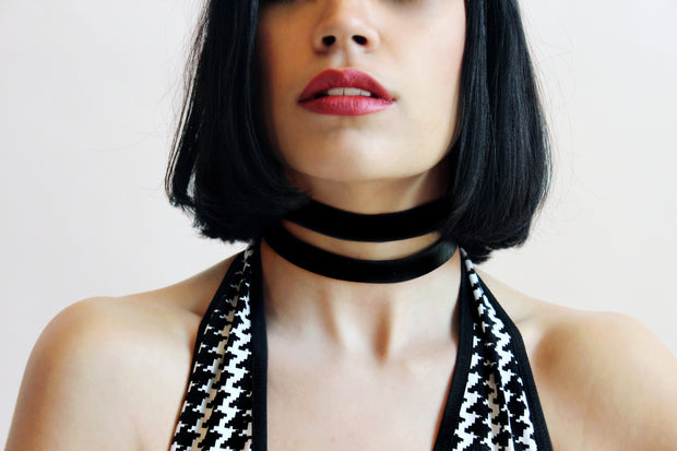 chic made consciously upcycled choker ethically made in bali