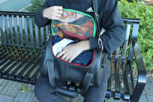 chic made consciously upcycled unisex bag made from repurposed truck tires
