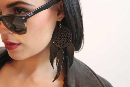 chic made consciously eco friendly earrings made with love in Bali