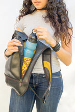 chic made consciously upcycled eco friendly adventure bag handmade from tire inner tubes
