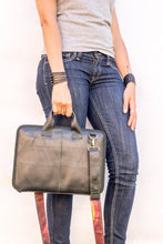 chic made consciously sustainable ethical laptop corporate bag made from tire inner tubes in bali