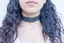 chic made consciously sustainable bloom choker made from repurposed tire inner tubes