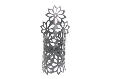 ethically made flower bracelet hand cutted in Bali