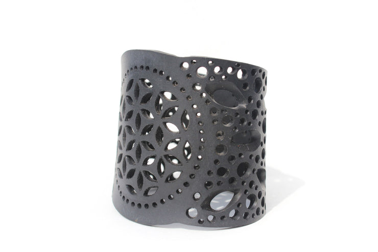 chic made consciously ethically made bracelet made from truck tire inner tubes in Indonesia