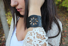 chic made consciously sustainable unisex bracelet made from repurposed truck tire inner tubes