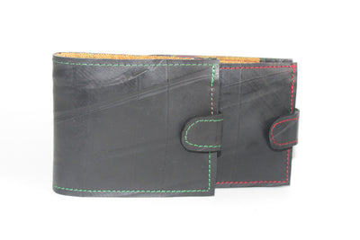 chic made consciously eco friendly wallet made from repurposed truck tire inner tubes