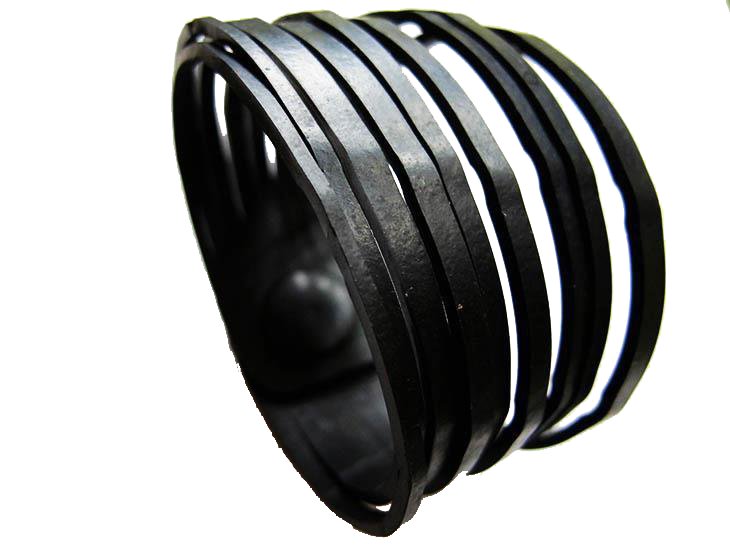 chic made consciously eco friendly unisex stripes bracelet handmade in bali