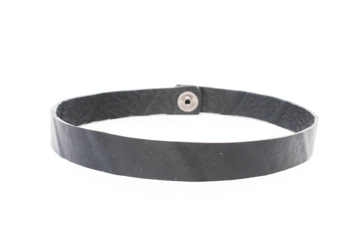 chic made consciously eco friendly choker made from repurposed tire inner tubes