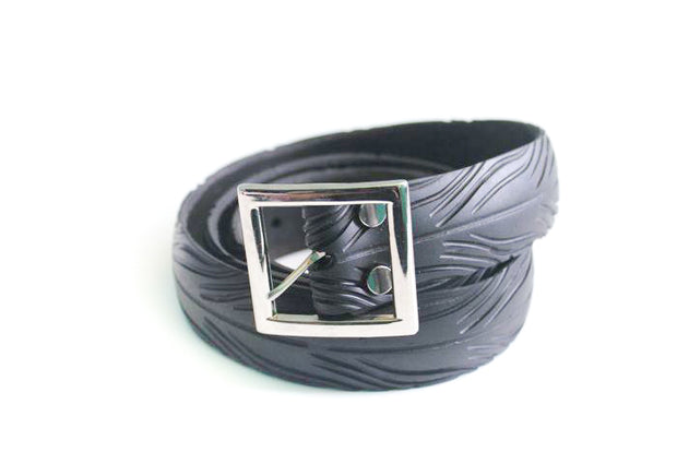 chic made consciously eco friendly unisex tire belt handmade in bali
