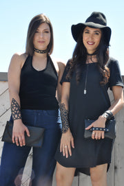 chic made consciously vegan ethically made mod clutch made from recycled tire inner tubes