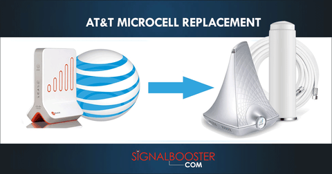 AT&T MicroCell Discontinued: Replace with Cell Phone Signal Booster!