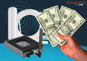 A Cell Phone Signal Booster That Does Not Cost a Fortune