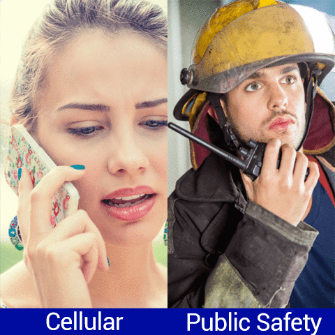 Difference between Cellular & Public Safety Band Signal Amplifiers