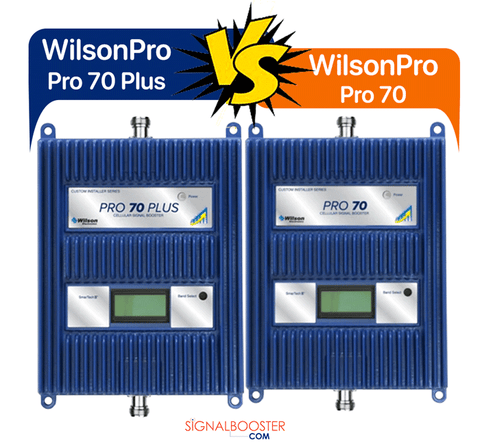 Differences in Wilson Electronics' Pro 70 vs. Pro 70 Plus by WilsonPro