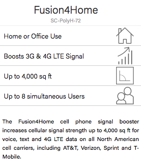Review of SureCall Fusion4Home 3G & 4G Signal Booster for Small Areas