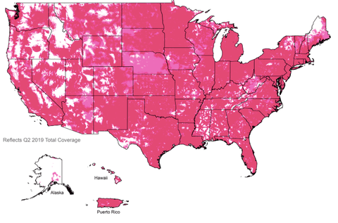 T Mobile Us Coverage Map T Mobile Coverage Map & Tips to Improve Cell Phone Signal Strength